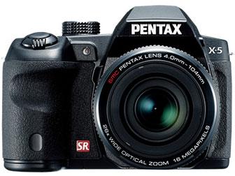ペンタックス X-5